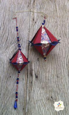 Tomoko | Vania Passos - Origami e Paper Art Origami And Kirigami, Origami Box, Origami Stars, Origami Paper, Fun Diy Crafts, Holiday Crafts, Paper Folding Crafts, Paper Crafts, Origami Modular