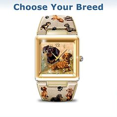 Women's Dachshund watch! Awww!! Time to cuddle your Doxie!!!