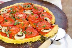 Polenta Pizza Crust [Vegan, Gluten-Free]   One Green Planet