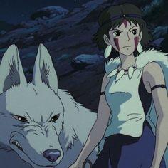 Studio Ghibli Art, Studio Ghibli Movies, Cute Cartoon Wallpapers, Animes Wallpapers, Iconic Characters, Anime Characters, Princes Mononoke, Studio Ghibli Background, Fanart