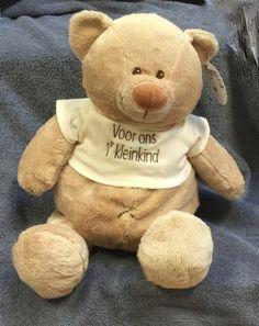 Een kado voor een aanstaand kleinkind. Op het t-shirt kunnen ook andere teksten. Teddy Bear, Toys, Animals, Activity Toys, Animales, Animaux, Clearance Toys, Teddy Bears, Animal