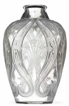 lalique vase                                                                                                                                                                                 More
