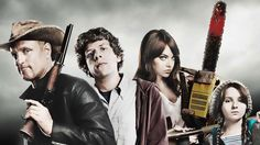 Sony Pictures is still developing Zombieland That is what was revealed by writers Rhett Reese and Paul Wernick (Deadpool Zombieland on The Q. Emma Stone, Abigail Breslin, Bill Murray, Love Movie, Movie Tv, Movies Showing, Movies And Tv Shows, Zombieland Movie, Deadpool