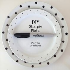 Emma Courtney: DIY Sharpie Plate