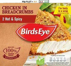 Birds eye chicken hot & spicy