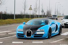 Tiffany Blue Bugatti Veyron--wow!!