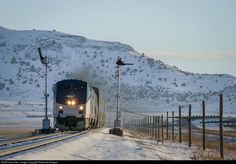 RailPictures.Net Photo: AMTK 45 Amtrak GE P42DC at Wagon Mound, New Mexico by Nathaniel Holguin