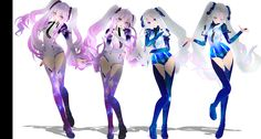 COLLOB:TDA GALAXY MIKU 2016 white and dark by iinoone.deviantart.com on @DeviantArt