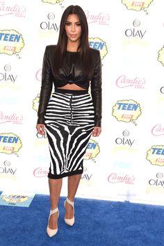 Kim Kardashian  - 2014 Teen Choice Awards