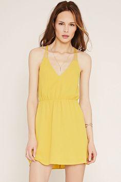 Robe d'été jaune by Forever21 parce que j'ai pas (beaucoup) de robes d'été
