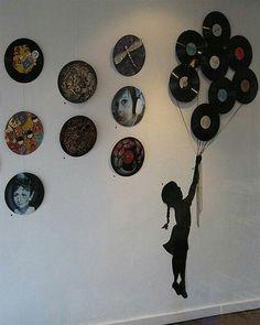 Vinyl Record Wall Decor Pinterest And Purpose