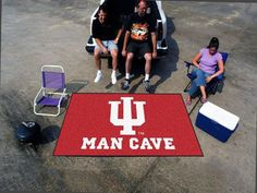 Indiana Man Cave UltiMat Rug 5'x8'