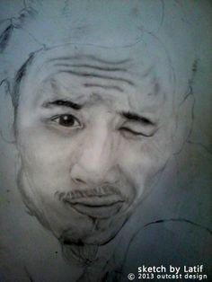 Sketch Latif  humancreative.co.id
