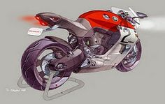 One of my favourite motorcycle sketches.