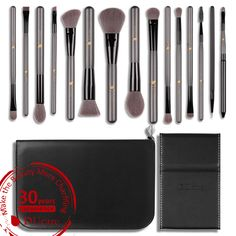 $44.09 ---- Are you still using a cheap rough bristles to do your #makeup? Give it up now!! Take care of your #skin and your #beauty! Get these high quality makeup #brushes set with a affordable price -- from same manufacturer for #sephora #MAC #Dior #brush. #get #30% #off with #coupon #LF4XCLUF  #online