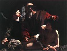 Caravaggio, Sacrifice of Isaac, 1598-99
