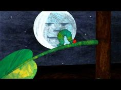 --- animation of 'The Very Hungy Caterpillar'. A children's book written by Eric Carle. The Very Hungry Caterpillar Activities, Eric Carle, Book Crafts, Book Activities, Diy For Kids, Painting, Tube Video, Fruit, Dutch