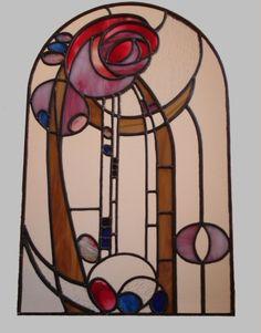 stained glass - charles rennie macintosh