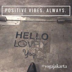 Bikram Yoga, Jakarta, Positive Vibes, Positivity