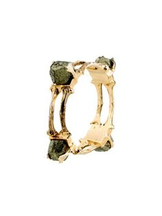 Low Luv  Bone & Pyrite Bangle