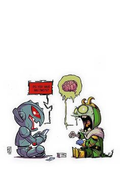 Age of Ultron vs Marvel Zombies Baby Variant - Skottie Young