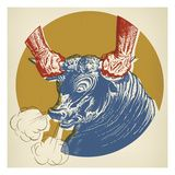 Grab the Bull by the Horns Affiches par  Pop Ink - CSA Images