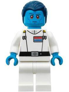 BrickLink - Minifig sw811 : Lego Admiral Thrawn (75170) [Star Wars:Star Wars Rebels] - BrickLink Reference Catalog