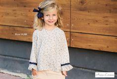 Conjunto de camisa estampado liberty y shorts para niña ya disponible en http://aianalarocca.com/ #modainfantil