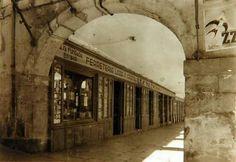 León, fotos antiguas, plaza mayor.