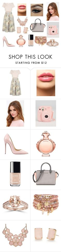 """""""Untitled #149"""" by seerat-chahal ❤ liked on Polyvore featuring Coast, LASplash, LULUS, Fujifilm, Christian Louboutin, Paco Rabanne, Chanel, Bliss Diamond, Accessorize and Kate Spade"""