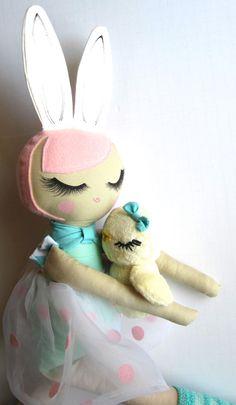 Custom Order Cloth Doll by Mend by Ruby Grace por MendbyRubyGrace, $100.00