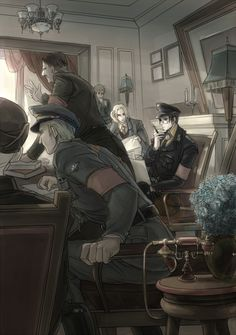 I think this is one of my favorite pictures ever because it's historical Hetalia in this amazing, subtle way. Just every part of it is darkly intriguing.