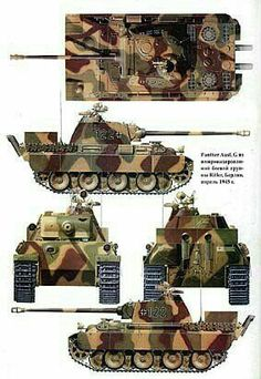 Panzer V Ausf.G Panther 1945