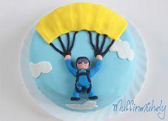 ejtőernyős torta