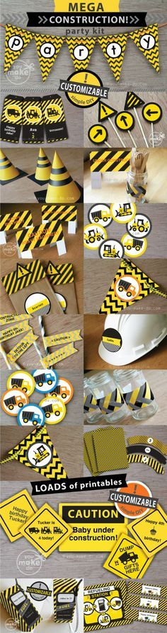 under construction bunting - Google Search