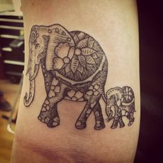 My new tattoo #elephant #tattoos #elephanttattoo