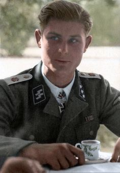 Werner Wolff was an SS-Obersturmführer (SS Lieutenant) in the 1st Panzerdivision SS Leibstandarte-SS-Adolf Hitler, awarded the Knight's Cross of the Iron Cross, the highest military distinction of Nazi Germany.