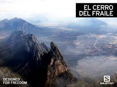 El Cerro del Fraile te cautivará por su belleza, una montaña imponente, digna de ser explorada por los más aventureros. Se ubica en García, un municipio perteneciente al estado de Nuevo León y también es conocido como el cerro del sapo. Equípate con la mejor tecnología Salomon y visítalo #Naturaleza #México