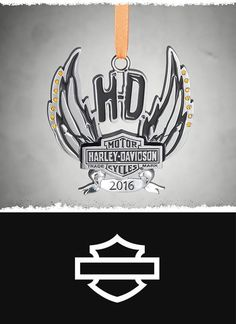 Bright, beautiful, and bold. | Harley-Davidson 2016 Pewter Ornament