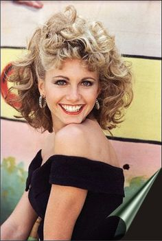 Olivia Newton John...for Bailey, she loves Grease!