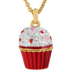 Cupcake Locket - The Danbury Mint