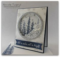 Wonderland shaker card by becreativewithnicole.com