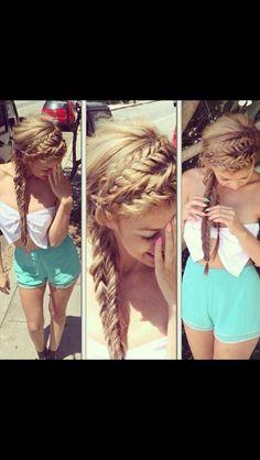 Trop joli ! Je veux des cheveux comme ça my god !!!