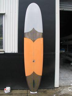 A little bit of orange. - Thomas Surfboard