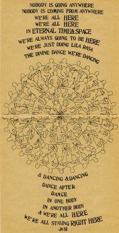 Be Here Now, by Ram Dass couldn't have arrived at a better time