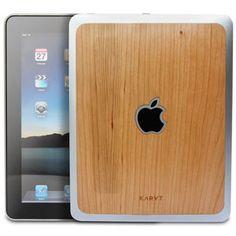 Karvy iPad skins $29.99....I want!! Will match my MAC ;)