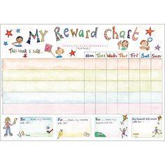My Reward Chart Organiser Pad from Phoenix Trading Stationery, Children