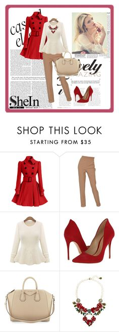 """""""SheIn"""" by alien-official ❤ liked on Polyvore featuring Hermès, Schutz, Givenchy and Dolce&Gabbana"""