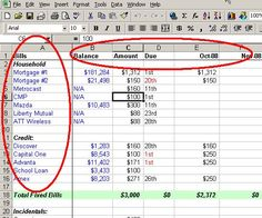 Make a Personal Budget on Excel in 4 Easy Steps – Finance tips, saving money, budgeting planner Budgeting Finances, Budgeting Tips, Financial Tips, Financial Planning, Financial Peace, Financial Literacy, Excel Tips, Budget Worksheets Excel, To Do Planner