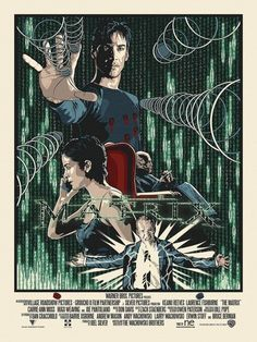 The Matrix by New Flesh Poster Movie Poster Art, Film Posters, Cool Posters, The Matrix Movie, Sci Fi Films, Pop Culture Art, Alternative Movie Posters, Cultura Pop, Fan Art